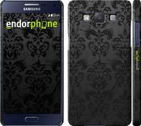 """Чехол на Samsung Galaxy A5 A500H узор черный """"1612c-73"""""""
