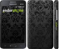 """Чехол на Samsung Galaxy Core 2 G355 узор черный """"1612c-75"""""""