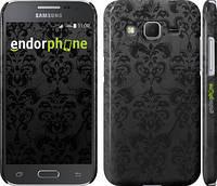 "Чехол на Samsung Galaxy Core Prime G360H узор черный ""1612c-76"""