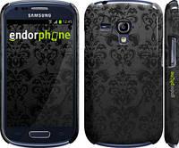 "Чехол на Samsung Galaxy S3 mini узор черный ""1612c-31"""