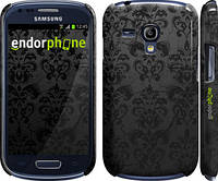 "Чехол на Samsung Galaxy S3 mini узор черный ""1612c-31"""
