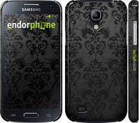 "Чехол на Samsung Galaxy S4 mini узор черный ""1612c-32"""