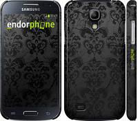 """Чехол на Samsung Galaxy S4 mini Duos GT i9192 узор черный """"1612c-63"""""""