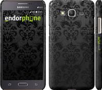 "Чехол на Samsung Galaxy Grand Prime G530H узор черный ""1612c-74"""