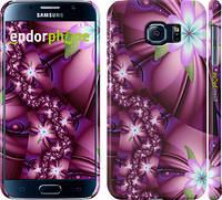 "Чехол на Samsung Galaxy S6 G920 Цветочная мозаика ""1961c-80"""