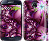 "Чехол на Samsung Galaxy S4 i9500 Цветочная мозаика ""1961c-13"""