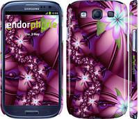 "Чехол на Samsung Galaxy S3 i9300 Цветочная мозаика ""1961c-11"""