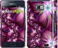 "Чехол на Samsung Galaxy S2 Plus i9105 Цветочная мозаика ""1961c-71"""