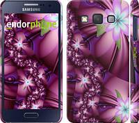 "Чехол на Samsung Galaxy A3 A300H Цветочная мозаика ""1961c-72"""