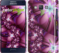 "Чехол на Samsung Galaxy A5 A500H Цветочная мозаика ""1961c-73"""