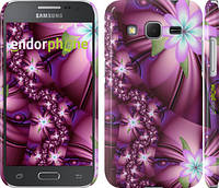 "Чехол на Samsung Galaxy Core Prime G360H Цветочная мозаика ""1961c-76"""