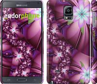 "Чехол на Samsung Galaxy Note 4 N910H Цветочная мозаика ""1961c-64"""