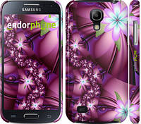 "Чехол на Samsung Galaxy S4 mini Duos GT i9192 Цветочная мозаика ""1961c-63"""