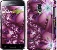 """Чехол на Samsung Galaxy S5 mini G800H Цветочная мозаика """"1961c-44"""""""