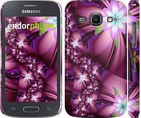 "Чехол на Samsung Galaxy Ace 3 Duos s7272 Цветочная мозаика ""1961c-33"""