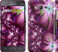 "Чехол на Samsung Galaxy Grand Prime G530H Цветочная мозаика ""1961c-74"""