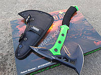 Тактический топор Doomsday Axe зеленый  PH1001