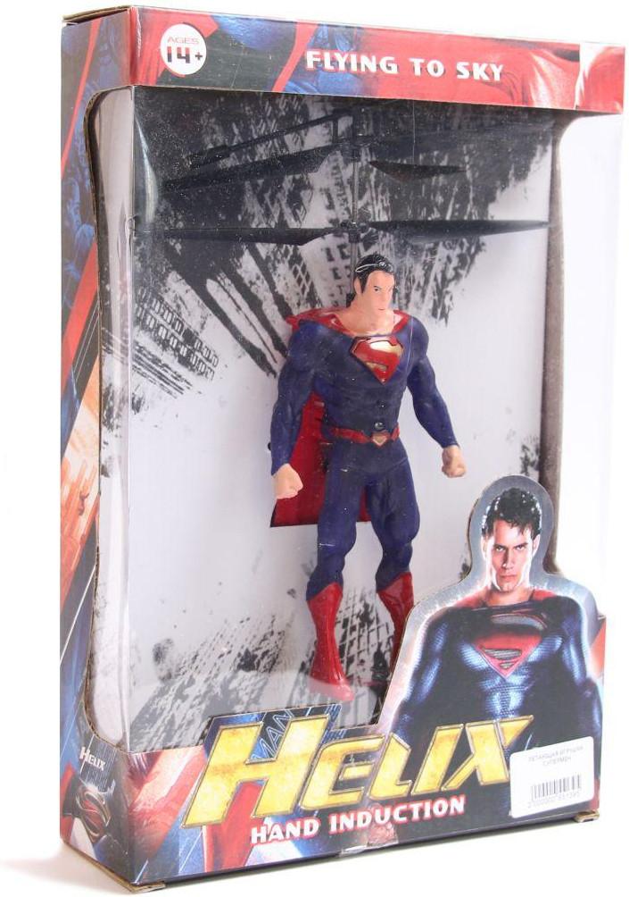 Летающий Супермен Superman! Летающая игрушка с пропеллерами!
