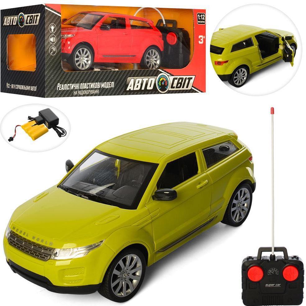 Радиоуправляемая машинка зеленая! Машина АвтоСвіт на Радио Управлении для детей!