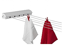 Сушилка в ванную комнату для полотенец веревочная