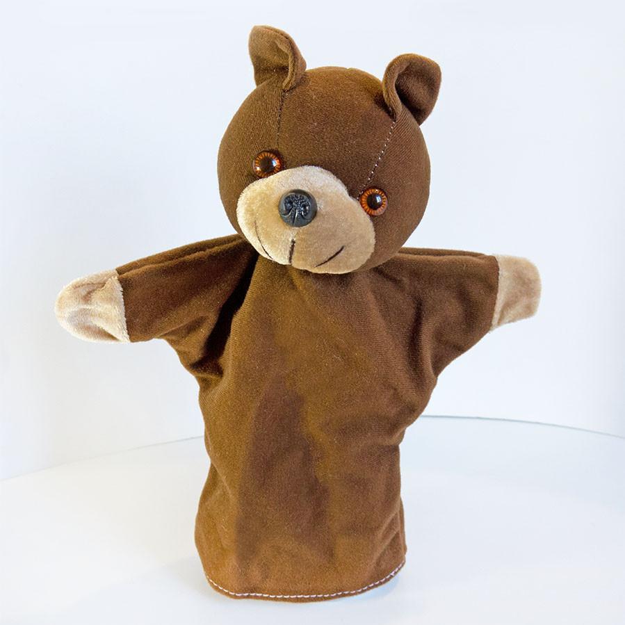 Кукольный театр Zolushka Медведь 27см (313) Перчаточная кукла на руку для постановок! Кукла рукавичка!
