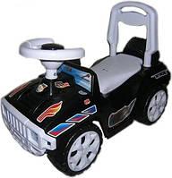 """Машинка для катання ОРІОНЧИК чорний"""" Машинка каталка толокар для детей!"""