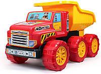 """Машинка """"Большой самосвал ТехноК"""" Грузовая машинка игрушечная с большими колесами для игры в песочнице!"""