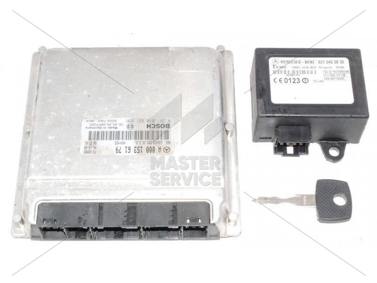 Блок управления двигателем 2.2 для MERCEDES-BENZ Sprinter 901-905 1995-2006 0281010616, 0281010921, A0001534179, A0001536179, A6111536279