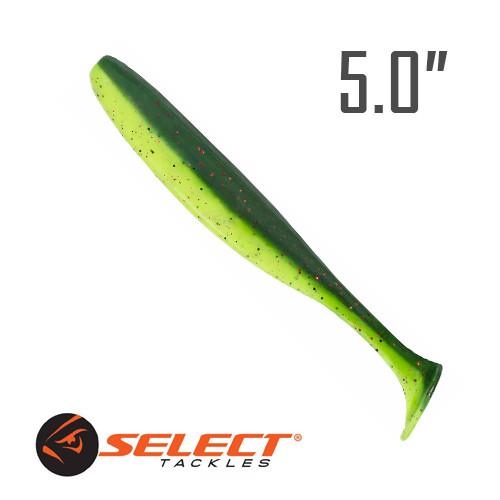 """Easy Shad 5"""" (125 мм.) 5 шт. Силикон Select 203"""