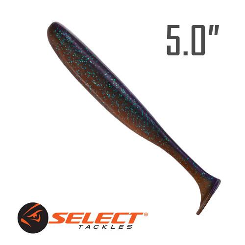 """Easy Shad 5"""" (125 мм.) 5 шт. Силикон Select 206"""
