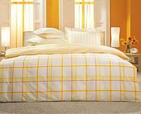 TAC Евро постельное бельё  перкаль Vertigo yellow