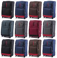 Тканевые чемоданы Wings 206 на 2-х колесах