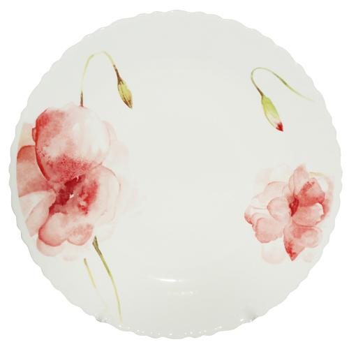 Десертна тарілка Квіткова акварель 22 см SNT 30071-16005