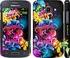 """Чехол на Samsung Galaxy Ace 3 Duos s7272 Абстрактные цветы """"511c-33"""""""