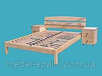 """Кровать полуторная деревянная """"Александра"""" kr.al2.1"""