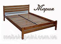 """Кровать полуторная деревянная """"Мария"""" kr.mr2.1"""