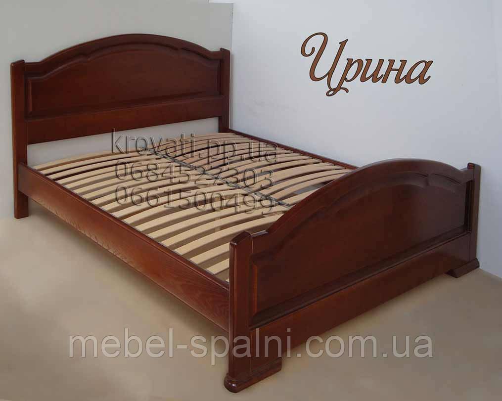 """Кровать полуторная деревянная """"Ирина"""" kr.ir2.1"""