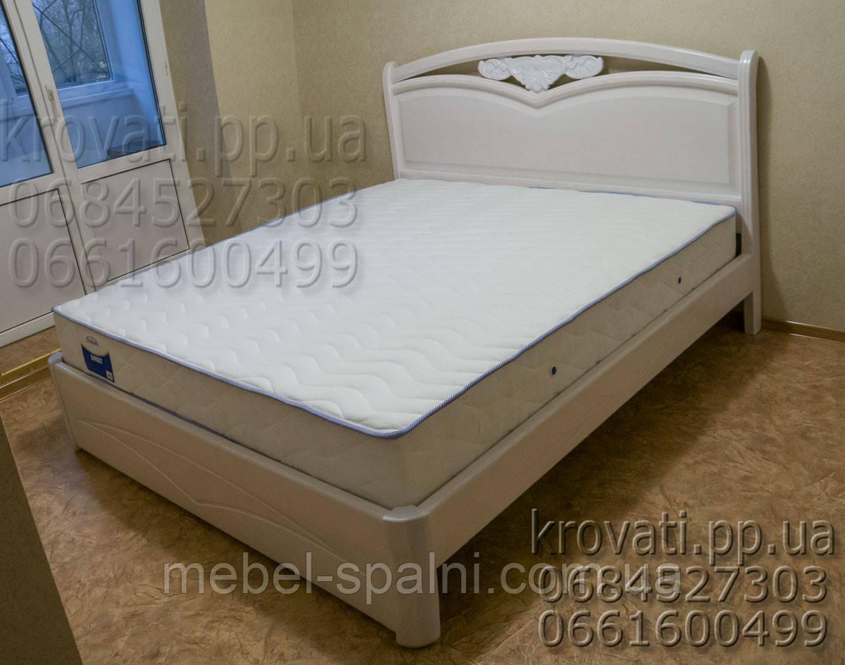 """Кровать полуторная деревянная """"Анастасия"""" kr.as2.2"""