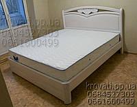 """Кровать полуторная деревянная """"Анастасия"""" kr.as2.2, фото 1"""