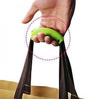 Резиновая ручка для пакетов, чтобы не натирало руку!