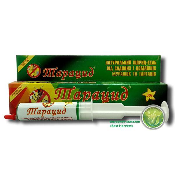 Шприц-гель «Тарацид» 30 мл, средство от бытовых насекомых
