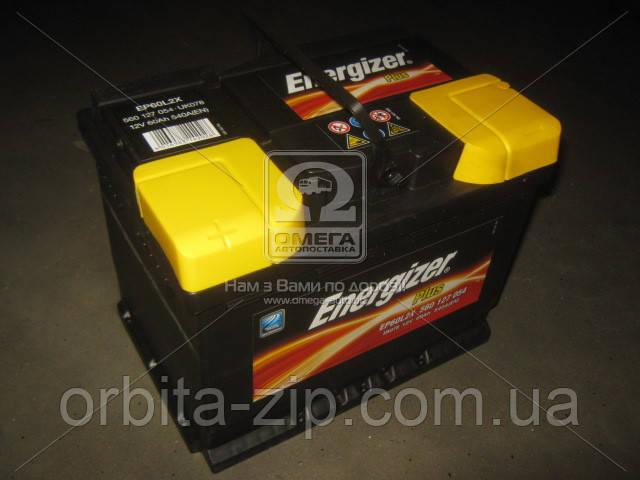 560 127 054 Аккумулятор 60Ah-12v Energizer Plus (242х175х190), L,EN540 (ENERGIZER)
