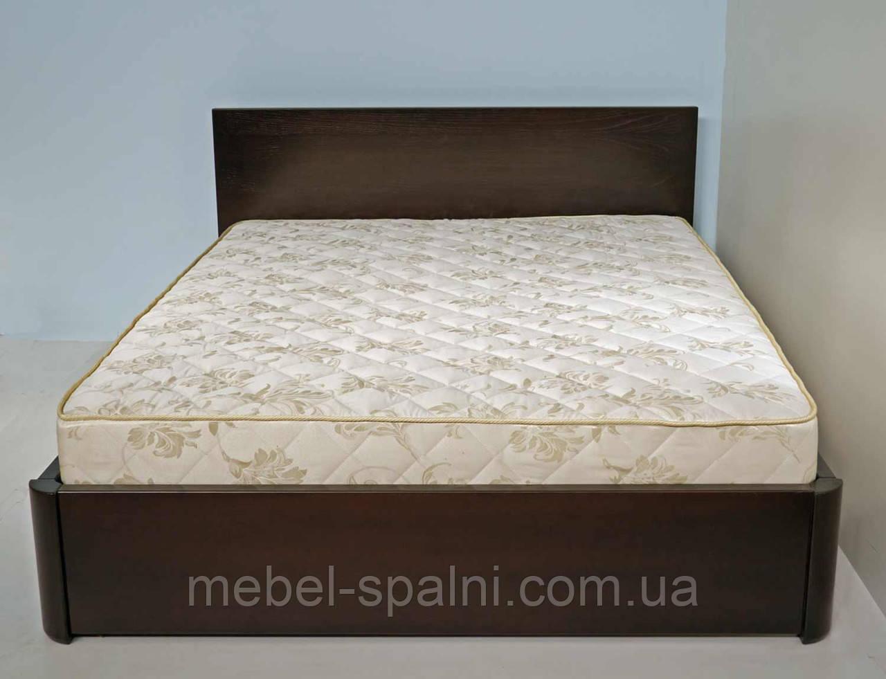 """Кровать двуспальная деревянная с подъёмным механизмом  """"Марина"""" kr.mn7.1"""