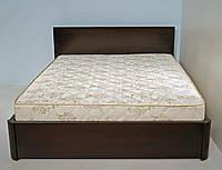 """Кровать двуспальная деревянная с подъёмным механизмом  """"Марина"""" kr.mn7.1, фото 1"""
