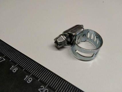 Хомут винтовой PAR-SAN оцинкованная сталь  08-13 мм