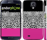 "Чехол на Samsung Galaxy S4 i9500 Шкура леопарда v3 ""2723c-13"""