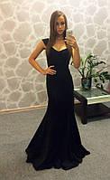 Шикарное платье с декольте (разные цвета)