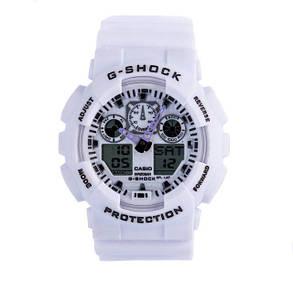 Часы Cas** G-Shock ga-100  Касио Джи Шок  Белые, Мужские /Женские (чоловiчi, жіночі) Наручний годинник часи, фото 2