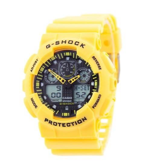 Часы Мужские Спортивные  ga-100 Касио Джи Шок