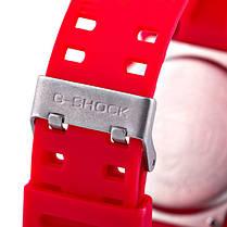Часы Касио Casio G-Shock ga-100 RED Джи Шок  Красные (Наручний годинник). ГАРАНТИЯ, фото 2
